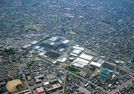 Továrna Nachi v Toyamě