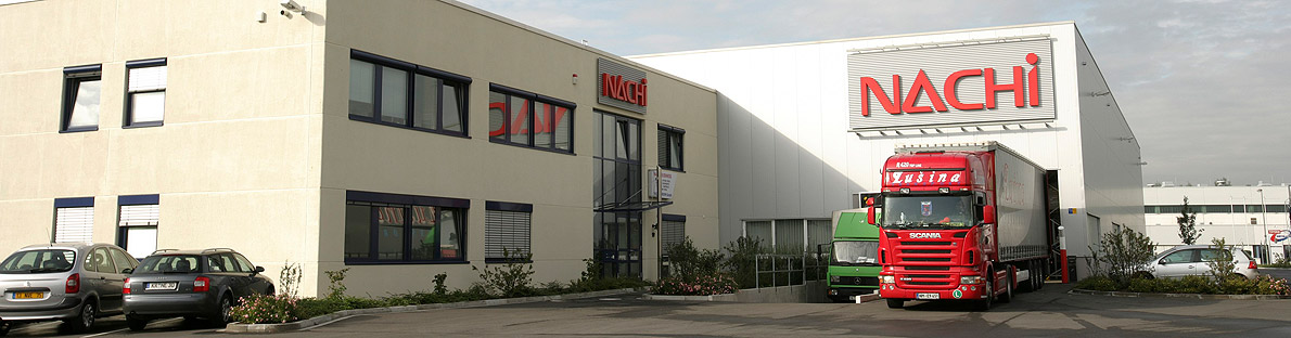 Sídlo Nachi Europe GmbH v Krefeldu