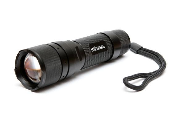 3W CREE Super bright LED voděodolná svítilna Korbel